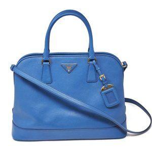 Auth Prada Saffiano Handbag /Shoulder/Crossbod Bag